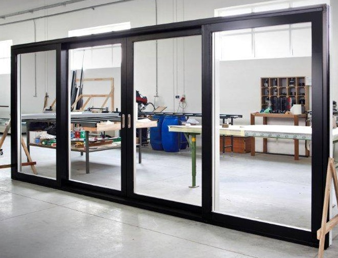 Sliding glass walls gallery uniwin windows doors for Glass walls and doors